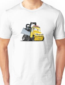 Cartoon Tow Truck Unisex T-Shirt