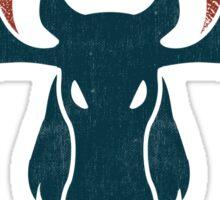Alaskan Moose - Alces Gigas Sticker