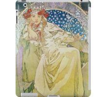 Alphonse Mucha - Princezna Hyacinta iPad Case/Skin