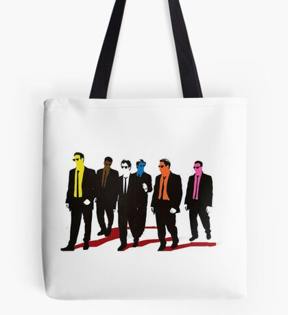 Reservoir Dogs Color Tote Bag