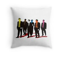 Reservoir Dogs Color Throw Pillow