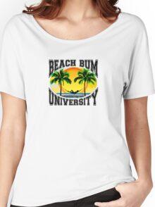 Beach Bum University Women's Relaxed Fit T-Shirt