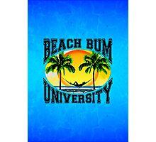 Beach Bum University Photographic Print