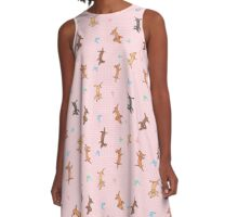 Chasing Butterfly A-Line Dress