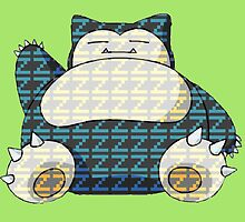 Snorlax / Catching some Zzz by supericarus