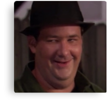 Kevin Malone is dench Canvas Print