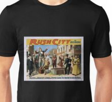 Performing Arts Posters Rush City by Gus Heege 2007 Unisex T-Shirt