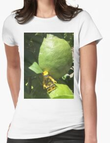 Brickography - Limes Womens Fitted T-Shirt