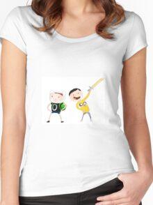 Dan&Phil AdventureTime Women's Fitted Scoop T-Shirt