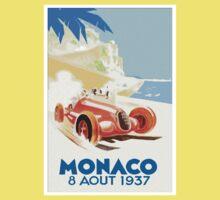 Grand Prix Monaco 1937 Kids Tee