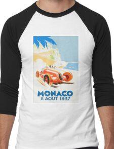 Grand Prix Monaco 1937 Men's Baseball ¾ T-Shirt