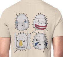 Kakuzu - Four Element Masks Unisex T-Shirt