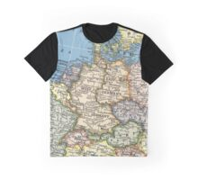 1951 old Germany map - special gift ideas Graphic T-Shirt