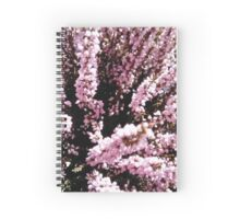 Erica flower Spiral Notebook