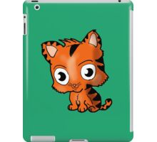 Chibi Tiger Cub Cartoon iPad Case/Skin