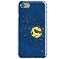 Bat Swarm (Shirt) iPhone Case/Skin