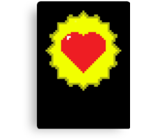 Tank Dodger - Heart Health Love Canvas Print