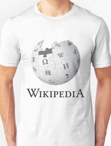 Wikipedia Logo Ultra High Quality Unisex T-Shirt