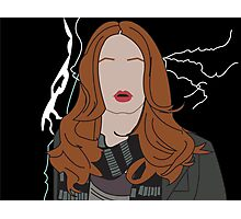 Amy Pond Photographic Print