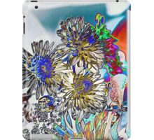 COLORING BOOK FLOWERS iPad Case/Skin