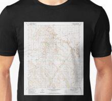 USGS TOPO Map Arizona AZ Markham Dam 312238 1980 24000 Unisex T-Shirt