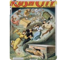 Performing Arts Posters Rush City by Gus Heege 2010 iPad Case/Skin