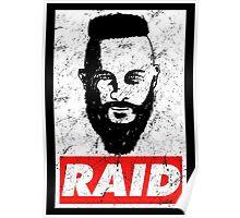 Raid Ragnar Lobrok Vikings Poster