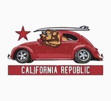 Summer - California Republic Baby Tee