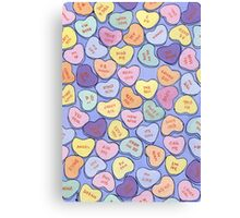 Sweethearts Canvas Print