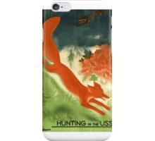 Hunting in the USSR iPhone Case/Skin