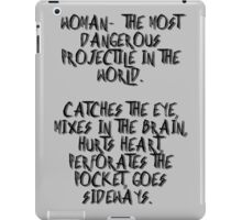 Woman... no. 2 iPad Case/Skin