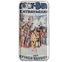 Performing Arts Posters Hurly Burly Extravaganza and Refined Vaudeville 0345 iPhone Case/Skin