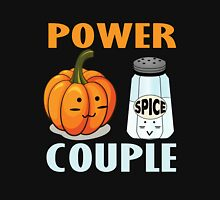 PUMPKIN SPICE T SHIRT POWER COUPLE T SHIRT HALLOWEEN T-SHIRT Unisex T-Shirt