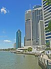 Brisbane Riverside by Graeme  Hyde