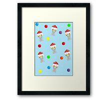 Gumball Machine Pattern Framed Print