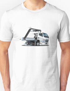 Cartoon Lkw Truck with Crane Unisex T-Shirt