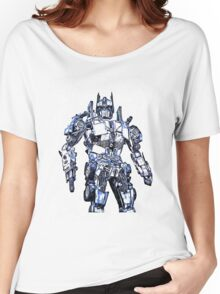 Transformers Optimus Prime Or Orion Pax Graphic Women's Relaxed Fit T-Shirt