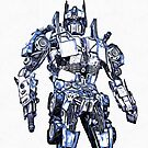 Transformers Optimus Prime Or Orion Pax Graphic by Edward Fielding
