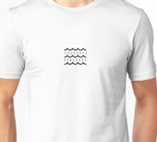 sad & happy wave graphics Unisex T-Shirt