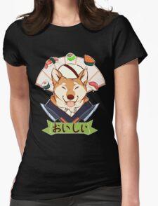 Oishī (Fan variation) Womens Fitted T-Shirt