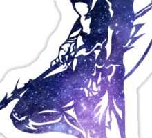 Final Fantasy IV Kain logo universe Sticker