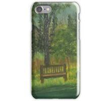 By a creekside in Georgia iPhone Case/Skin