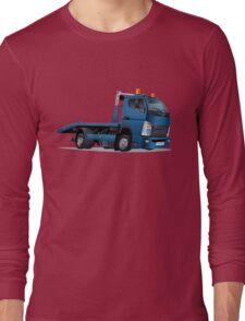 cartoon tow truck Long Sleeve T-Shirt