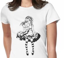 Gothic Lolita  Womens Fitted T-Shirt