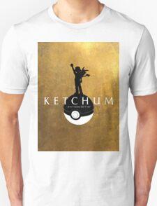 Hamilton-Pokémon Mashup! (Gold Background) Unisex T-Shirt