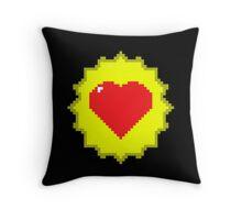 Tank Dodger - Heart Health Love Throw Pillow