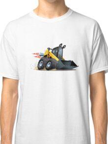 Cartoon Skid Steer Classic T-Shirt