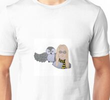 Wizard and Owl Unisex T-Shirt