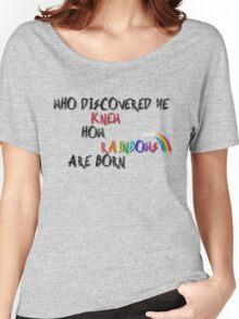 Pink princess talk Women's Relaxed Fit T-Shirt