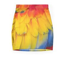 Feathers of A Scarlet Macaw Mini Skirt